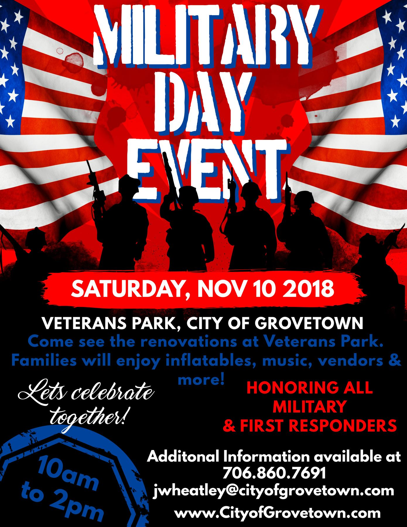 Military Day Event Flyer
