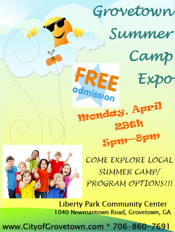 Summer Camp Expo Flyer 2019